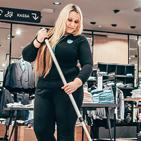 Myymäläsiivous ympyrä Leo Clean Oy
